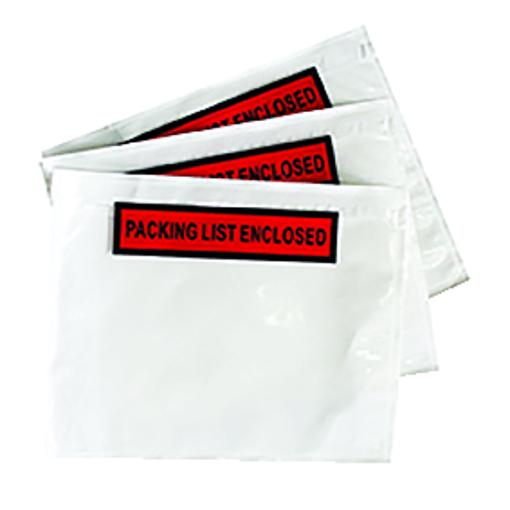 מעטפות חלון פקינג ליסט שקופות גדולות 235/325 ממ A4