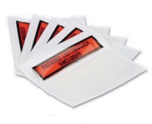 תמונה של 100 מעטפות חלון פקינג ליסט שקופות 135/240 Packing list