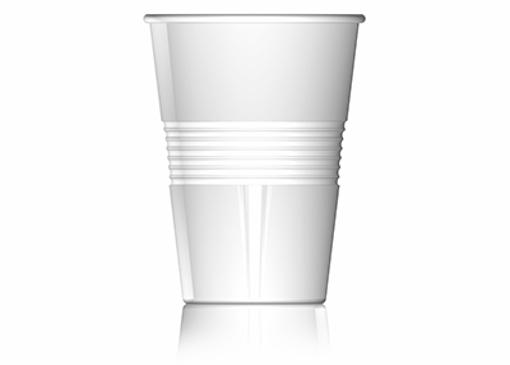 """תמונה של כוס פלסטיק 180 מ""""ל"""